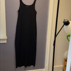 Eileen Fisher Charcoal Grey Tank Dress